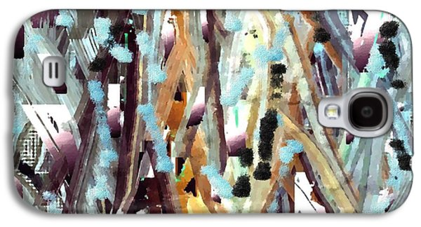 Impressionism Tapestries - Textiles Galaxy S4 Cases - Deer Run Galaxy S4 Case by Claire Masters