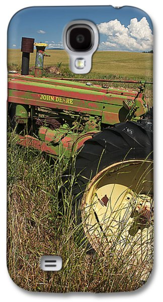 Machinery Galaxy S4 Cases - Deere John Galaxy S4 Case by Latah Trail Foundation