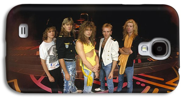 Def Leppard - Round Stage 1987 Galaxy S4 Case by Epic Rights
