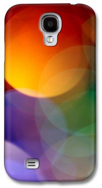 Abstract Digital Photographs Galaxy S4 Cases - Deja Vu 1 Galaxy S4 Case by Dazzle Zazz