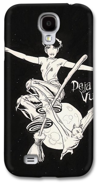 Tear Drawings Galaxy S4 Cases - Deja Vu Galaxy S4 Case by Richard Moore