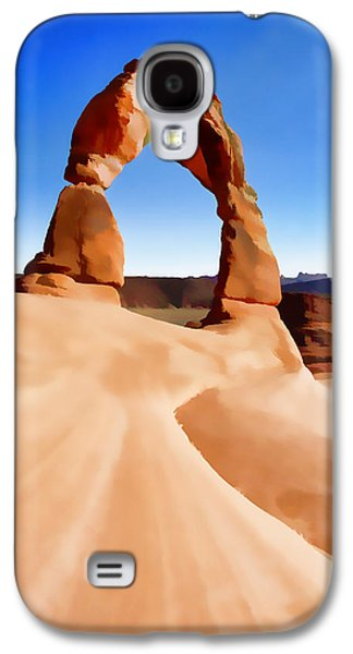 Consumerproduct Galaxy S4 Cases - Delicate Arch Galaxy S4 Case by Brady Barrineau