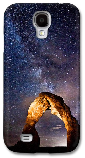 Landscapes Photographs Galaxy S4 Cases - Delicate Light Galaxy S4 Case by Darren  White