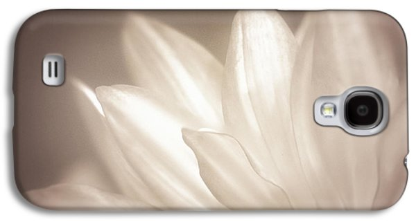 Close Focus Floral Galaxy S4 Cases - Delicate Galaxy S4 Case by Scott Norris