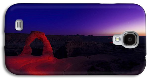 Southern Utah Galaxy S4 Cases - Delicate Twilight Galaxy S4 Case by Dustin  LeFevre
