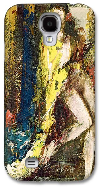 Alluring Paintings Galaxy S4 Cases - Delilah Galaxy S4 Case by Gustave Moreau