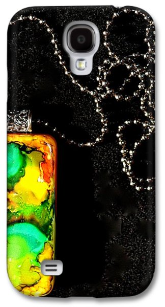 Abstract Jewelry Galaxy S4 Cases - Delve Galaxy S4 Case by Beverley Harper Tinsley