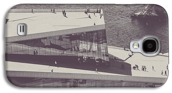 Oslo Opera House Galaxy S4 Cases - Den Norske Opera Galaxy S4 Case by Christina Klausen