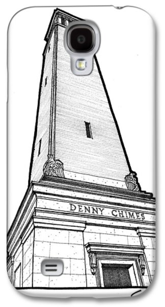 Denny Chimes Galaxy S4 Cases - Denny Chimes Galaxy S4 Case by Calvin Durham