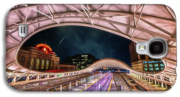 Architecture Acrylic Prints Galaxy S4 Cases - Denver Air Traveler Galaxy S4 Case by Darren  White