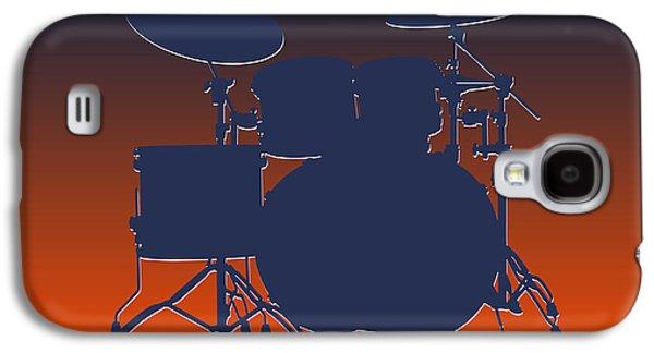 Denver Broncos Drum Set Galaxy S4 Case by Joe Hamilton