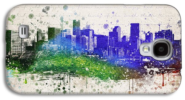 Denver Galaxy S4 Cases - Denver in Color Galaxy S4 Case by Aged Pixel