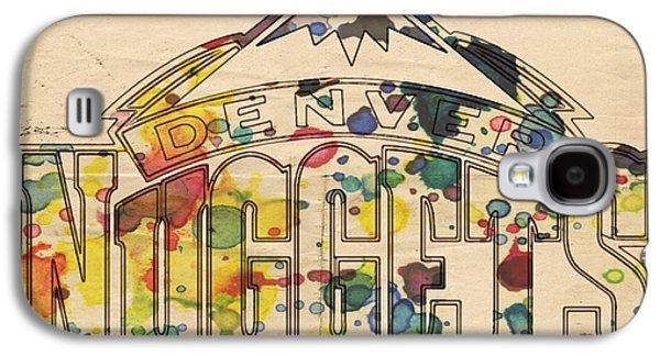 Denver Nuggets Poster Art Galaxy S4 Case by Florian Rodarte