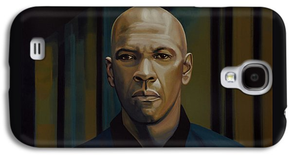 Denzel Washington In The Equalizer Painting Galaxy S4 Case by Paul Meijering