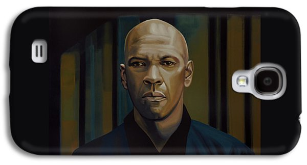 Wife Galaxy S4 Cases - Denzel Washington The Equalizer Galaxy S4 Case by Paul Meijering