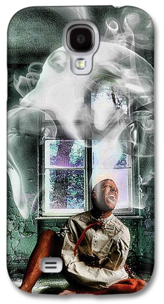 Inner Self Digital Art Galaxy S4 Cases - Deomens Galaxy S4 Case by John Stene
