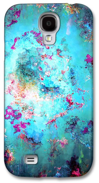 Print On Canvas Galaxy S4 Cases - Depths Of Emotion - Abstract Art Galaxy S4 Case by Jaison Cianelli