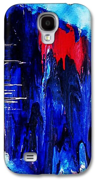 Mental Paintings Galaxy S4 Cases - Dereistic Galaxy S4 Case by Michael Ferguson