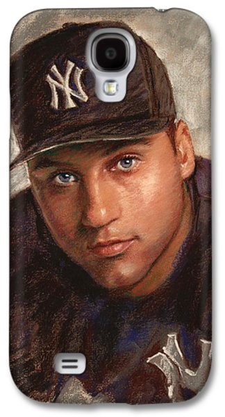 Derek Jeter Galaxy S4 Case by Viola El