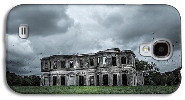 Creepy Digital Galaxy S4 Cases - Derelict Mansion  Galaxy S4 Case by Svetlana Sewell