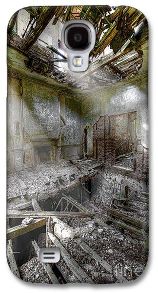 Creepy Digital Galaxy S4 Cases - Derelict Room Galaxy S4 Case by Svetlana Sewell
