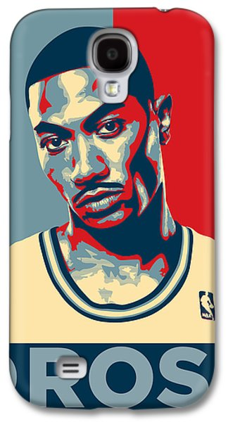 Kobe Galaxy S4 Cases - Derrick Rose Galaxy S4 Case by Taylan Soyturk