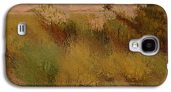 Colorful Abstract Galaxy S4 Cases - Desert Color Explosion Galaxy S4 Case by Dan Sproul