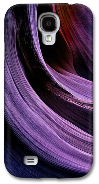 Red Rock Photographs Galaxy S4 Cases - Desert Eclipse Galaxy S4 Case by Mike  Dawson