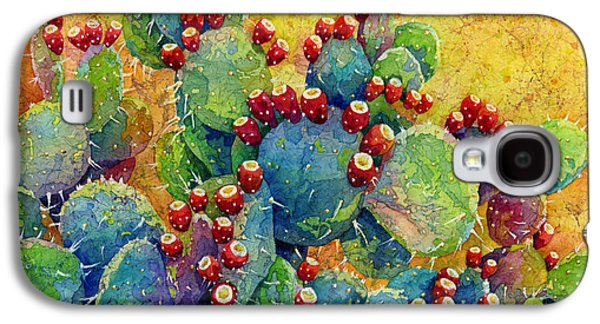 Artistic Paintings Galaxy S4 Cases - Desert Gems Galaxy S4 Case by Hailey E Herrera