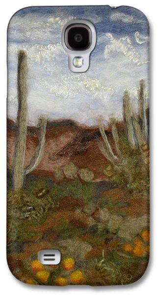 Universities Tapestries - Textiles Galaxy S4 Cases - Desert Galaxy S4 Case by Kyla Corbett