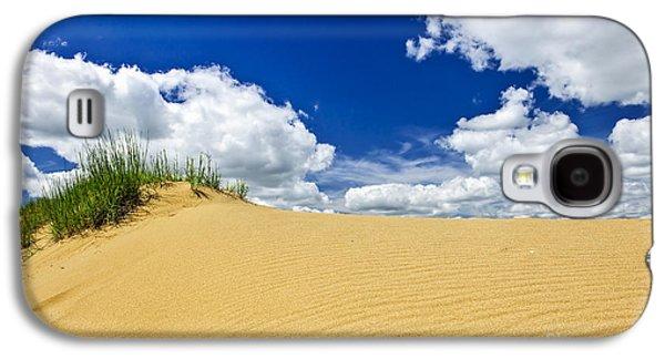 Sand Galaxy S4 Cases - Desert landscape in Manitoba Galaxy S4 Case by Elena Elisseeva