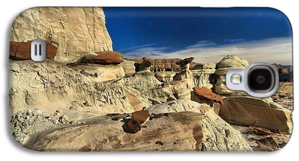 Surreal Landscape Galaxy S4 Cases - Desert Litter Galaxy S4 Case by Adam Jewell