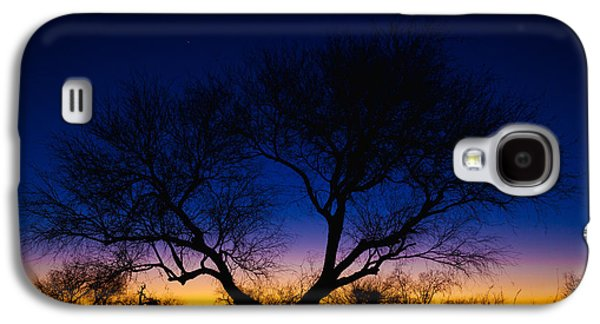 Outdoor Galaxy S4 Cases - Desert Silhouette Galaxy S4 Case by Chad Dutson