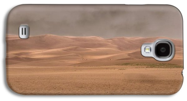 Summer Storm Galaxy S4 Cases - Great Sand Dunes Approaching Storm Galaxy S4 Case by Dan Sproul