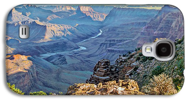 Desert View-morning Galaxy S4 Case by Paul Krapf