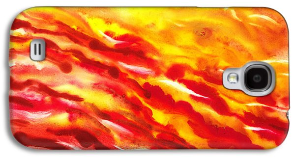 Abstract Movement Galaxy S4 Cases - Desert Wind Abstract I Galaxy S4 Case by Irina Sztukowski