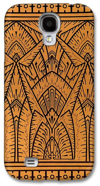 Print Tapestries - Textiles Galaxy S4 Cases - Design for a Pattern illustration from Studies in Design Galaxy S4 Case by Christopher Dresser