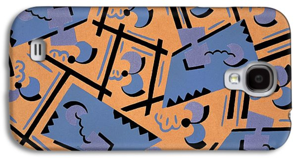 Print Tapestries - Textiles Galaxy S4 Cases - Design from Nouvelles compositions decoratives Galaxy S4 Case by Serge Gladky