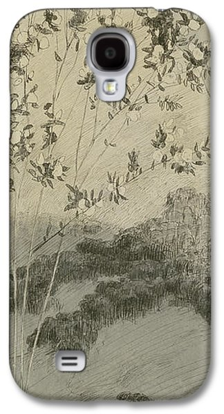 Tear Drawings Galaxy S4 Cases - Desires Galaxy S4 Case by Max Klinger