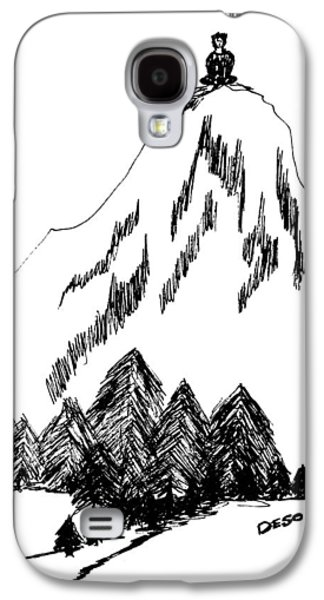 The Void Galaxy S4 Cases - Desolation Peak_Alone Time Galaxy S4 Case by Donna Haggerty