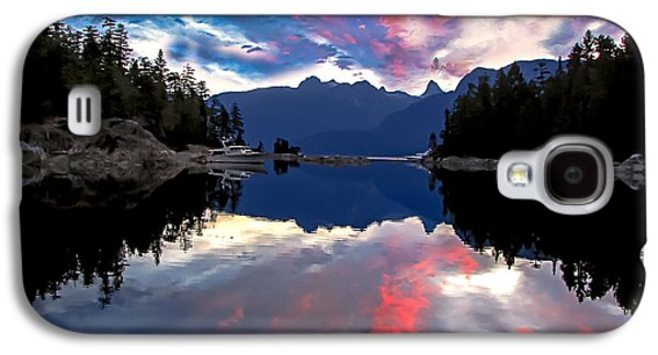 Recently Sold -  - Haybale Galaxy S4 Cases - Desolation Sound Galaxy S4 Case by Robert Bales