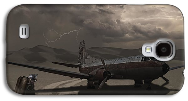 Dry Lake Galaxy S4 Cases - Destination Known Galaxy S4 Case by Keith Kapple