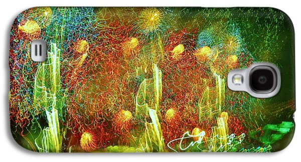 4th July Galaxy S4 Cases - Detroit Fireworks 4 Galaxy S4 Case by Jennifer McGuire