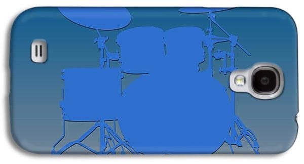 Detroit Lions Drum Set Galaxy S4 Case by Joe Hamilton