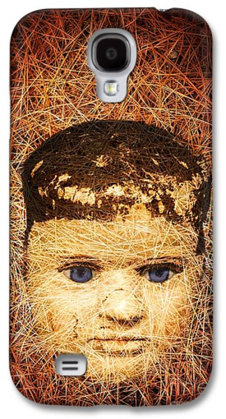 Creepy Galaxy S4 Cases - Devil Child Galaxy S4 Case by Edward Fielding