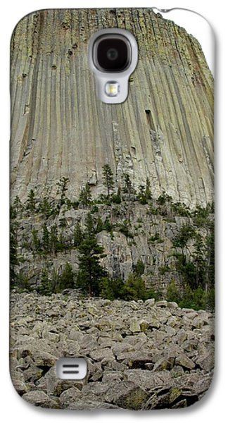 3rd Base Galaxy S4 Cases - Devils Tower National Monument 2 Galaxy S4 Case by Elizabeth Sullivan