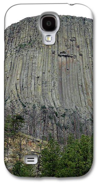 3rd Base Galaxy S4 Cases - Devils Tower National Monument Galaxy S4 Case by Elizabeth Sullivan