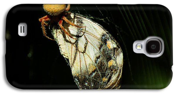 Cocoon Galaxy S4 Cases - Devouring Beauty Galaxy S4 Case by Rebecca Sherman
