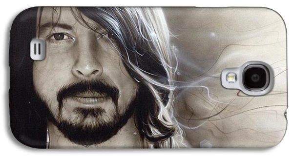 Dave Galaxy S4 Cases - d.g. Galaxy S4 Case by Christian Chapman Art