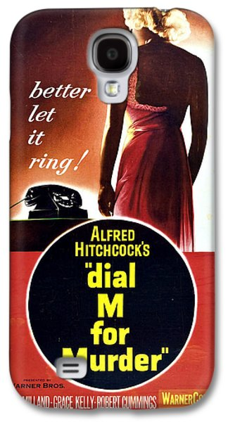 Dial M For Murder - 1954 Galaxy S4 Case by Georgia Fowler